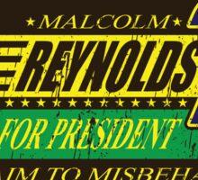 Reynolds For President Sticker