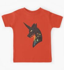 vincent the black unicorn Kids Clothes