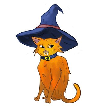 Witch Cat by catherinehom