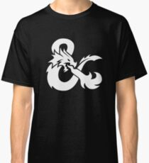 DND White Logo Classic T-Shirt