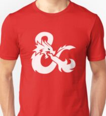 DND White Logo Unisex T-Shirt