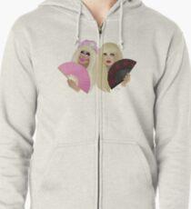 Trixie Mattel & Katya Zamolodchikova Zipped Hoodie