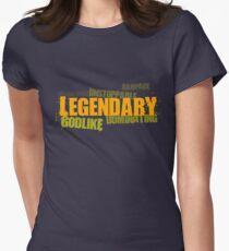 Legendary (dark) - League of Legends Womens Fitted T-Shirt