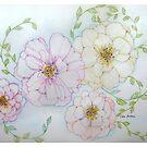 4 roses by Gea Austen