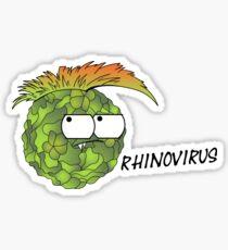 Rhinovirus Virus Villain Sticker