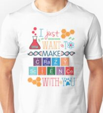 Crazy Science Unisex T-Shirt