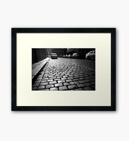 Prague from the bottom Framed Print