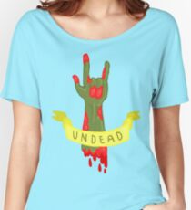 Undead Zombie Design Women's Relaxed Fit T-Shirt