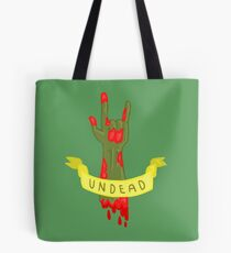 Undead Zombie Design Tote Bag