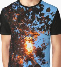 Autumn Glow Graphic T-Shirt