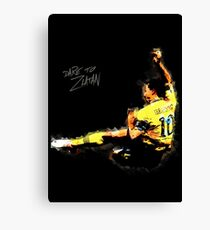 Dare to Zlatan Canvas Print