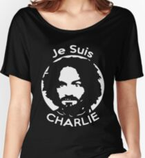 Je Suis Charlie Manson Women's Relaxed Fit T-Shirt