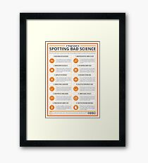 A Rough Guide to Spotting Bad Science Framed Print