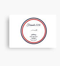 Formule 221b - Since 1895 Canvas Print