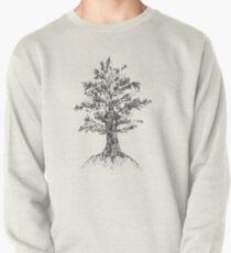 Tree sketch  Pullover