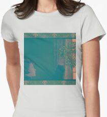 Three Colours Blue Juliette Binoche Womens Fitted T-Shirt