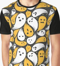 Spoopy Pattern Graphic T-Shirt