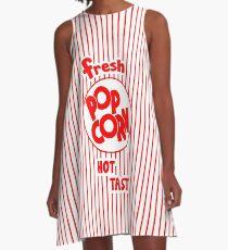 Popcorn Bag A-Line Dress