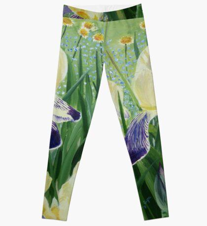 Gele Iris Leggings