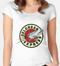 DeLorean Express Women's Fitted Scoop T-Shirt