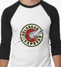 DeLorean Express Men's Baseball ¾ T-Shirt