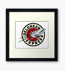DeLorean Express Framed Print