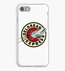 DeLorean Express iPhone Case/Skin