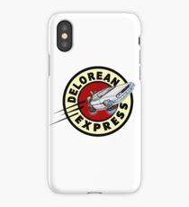 DeLorean Express iPhone Case