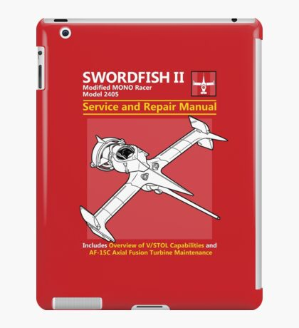 Swordfish Service and Repair Manual iPad Case/Skin