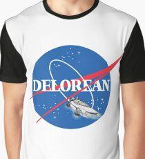 Delorean Nasa Graphic T-Shirt