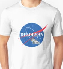 Delorean Nasa Unisex T-Shirt