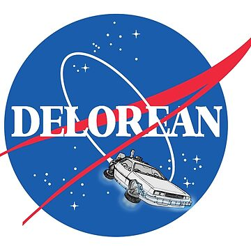 Delorean Nasa by pixel-designs