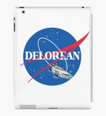 Delorean Nasa iPad Case/Skin