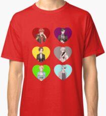 Mystic Messenger Hearts Classic T-Shirt