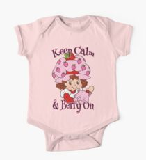 Keep Calm and Berry On One Piece - Short Sleeve
