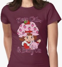 Keep Calm and Berry On Women's Fitted T-Shirt