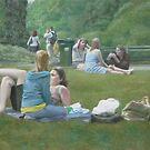 Girls in the Park by dbclemons