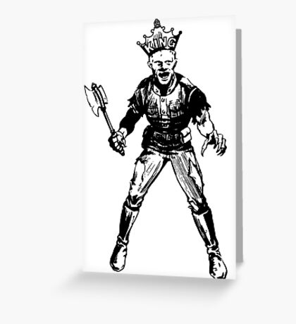 Soul Society Soldier Greeting Card