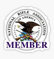 NRA member Sticker