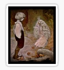 Little Boy and Fairy Queen Sticker