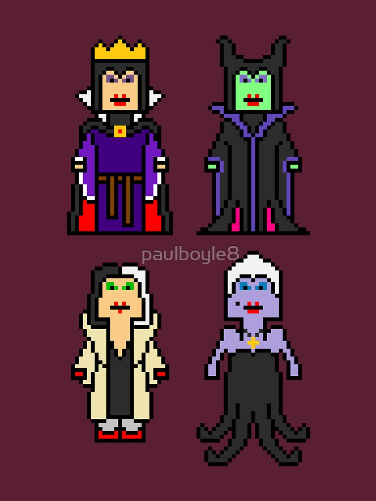 8-Bit Villainesses by paulboyle8