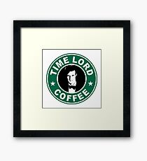 Time Lord Coffee Framed Print