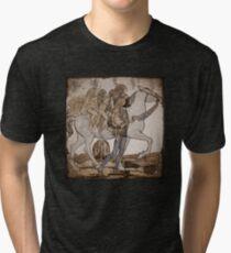 Faeries on Horseback  Tri-blend T-Shirt