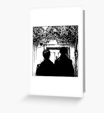Sherlock - Baskerville Greeting Card