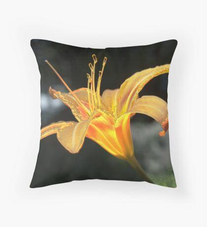 Molten Lilly Throw Pillow