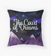 A Court of Dreams Throw Pillow