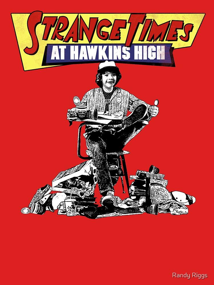 Strange Times At Hawkins High by randyriggs