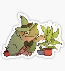 Pegatina Rana de árbol verde - Worf