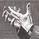 Pleading Hands by dbclemons