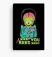 Mars recruitment Canvas Print